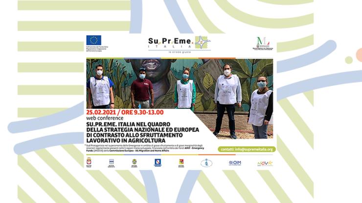 Su.Pr.Eme. Italia, il programma della web conference