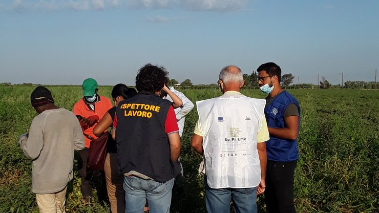 Su.Pre.Eme. Italia, vigilanza straordinaria in provincia di Foggia