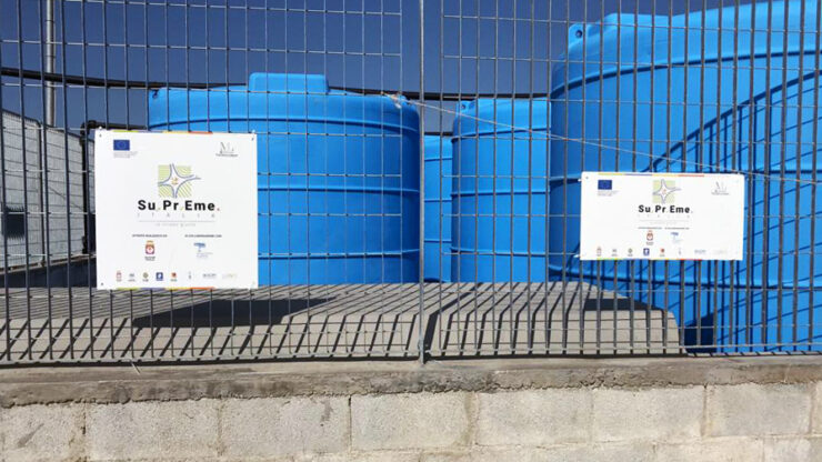 Su.Pr.Eme. Italia, in Puglia distribuiti oltre cinque milioni di litri d'acqua negli insediamenti dei migranti