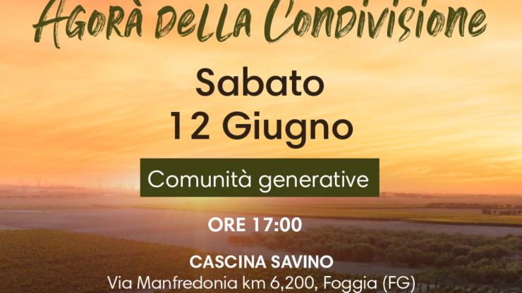 Su.Pr.Eme. Italia, sabato 12 e domenica 13 giugno l'agorà della condivisione